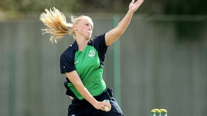 Kim Garth shone for Ireland in their warm-up defeat to India