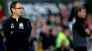 Pat Fenlon has left Shamrock Rovers