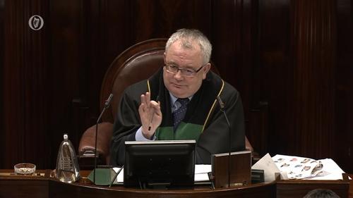 Ceann Comhairle Seán Ó Fearghaíl is to set up a consultation group next week