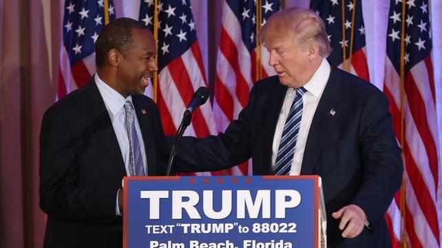 Ben Carson announced his endorsement for Donald Trump in Florida