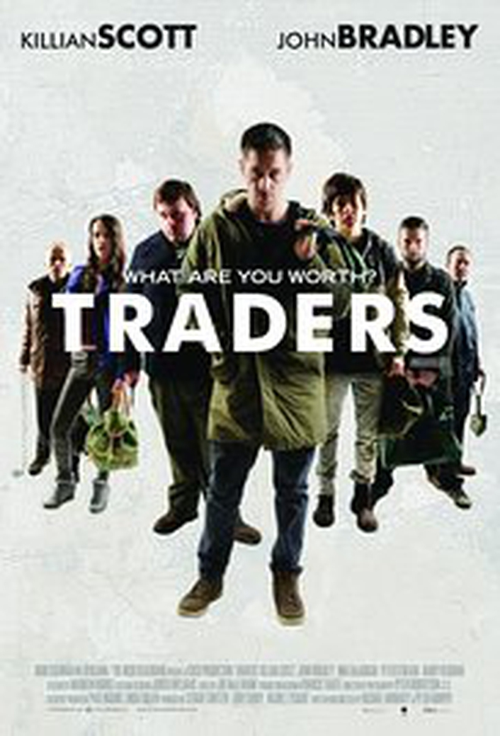 """Traders"", written and directed by Peter Murphy and Rachael Moriarty"
