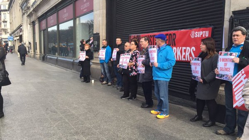 Former employees are demanding a meeting with the new owners of the store