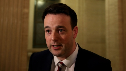 At the age of 32, Colum Eastwood is the SDLP's youngest ever leader
