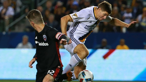 Steven Gerrard couldn't prevent Galaxy falling to defeat