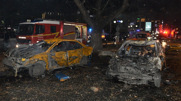 34 people killed and 125 others wounded in Turkish bombing