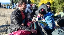 government has said up to UP Up to 3,000 Syrian and other child refugees are to be resettled in Britain over the next four years