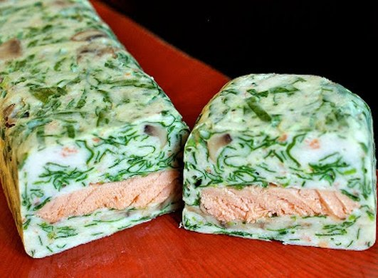 Neven's Recipes -  Salmon Terrine with Prawns