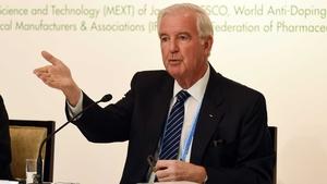 Craig Reedie was elected as WADA president in 2013