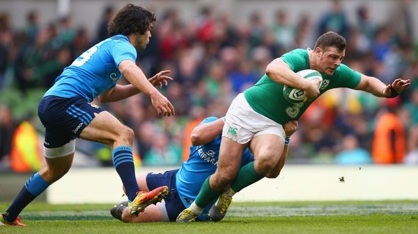 Conor O'Shea feels it won't be long before Ireland are right at the top of the tree again