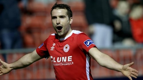 Christy Fagan opened the scoring for St Pat's