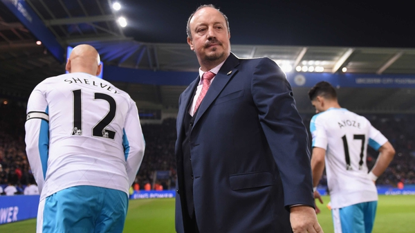 Rafa Benitez: 'I thought we could have got a result'