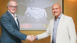 Joe Redmond, MD of Foreign Exchange Services at Fexco, and Mike Cooke founder & chairman of Currency Exchange Corporation