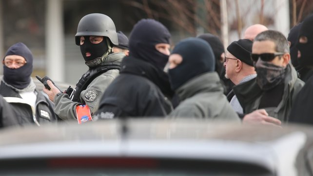 Security forces launched a major operation after the shootings