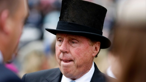 Harry Redknapp... in a top hat
