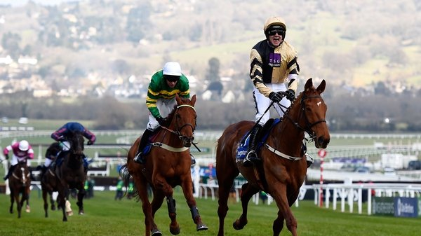 Yorkhill defeated Yanworth to win last year's Neptune Novices' Hurdle