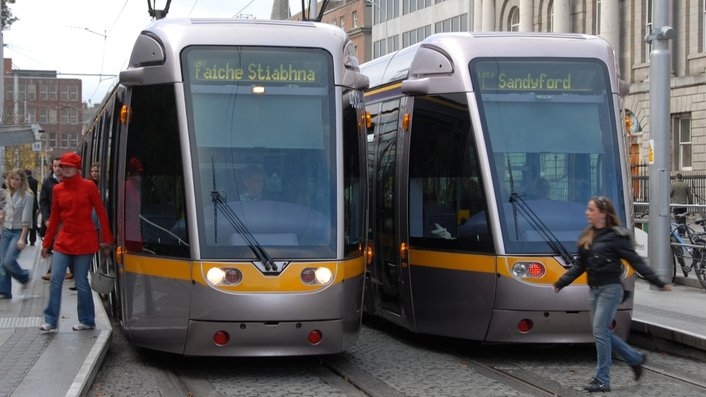 Luas drivers' pay dispute continues