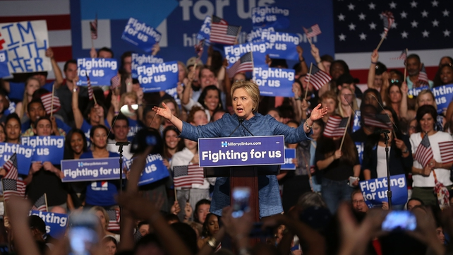 The wins for Hillary Clinton have moved her further ahead in the race for the Democratic nomination