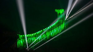 The Great Wall of China in all its green glory (Pic: Tourism Ireland 'Global Greening')