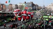 The St Patrick's Day parade in Dublin is due to kick off at midday