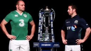 Captains Rory Best and Greig Laidlaw face off