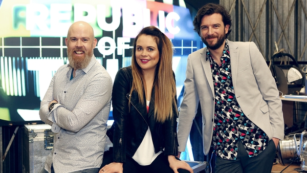 Edwin Sammon joins Joanne McNally and Kevin McGahern on Republic of Telly