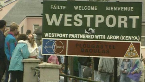 Westport Twinned With Aror (1991)