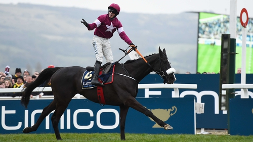 Bryan Cooper celebrates Gold Cup glory aboard Don Cossack