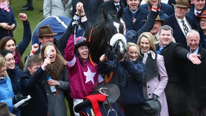 Connections of Don Cossack celebrate victory in last year's Gold Cup
