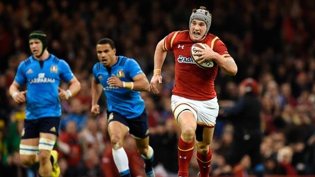 Luke Morgan to make first Wales start against Scotland