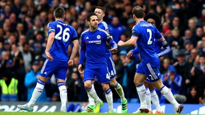 Cesc Fabregas equalised for Chelsea