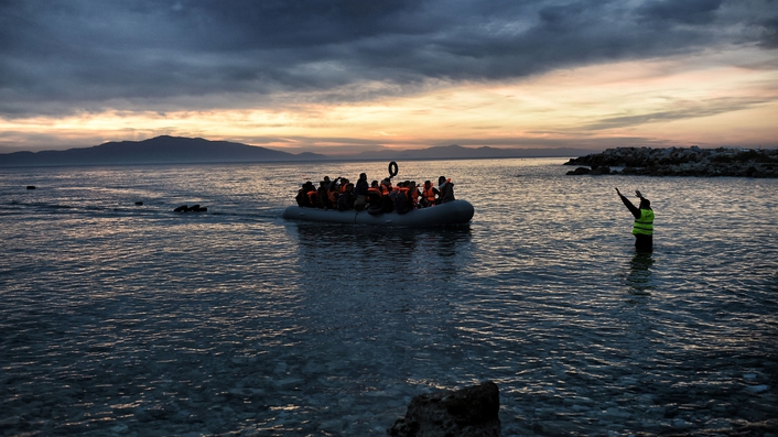 Reports that four hundred migrants drowned in Mediterranean Sea
