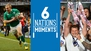 Six Nations moments: Ireland end on high