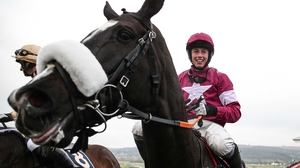 Bryan Cooper aboard Don Cossack