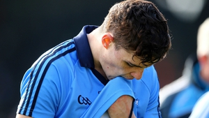 Dublin's Eoghan O'Donnell after the defeat to Kilkenny