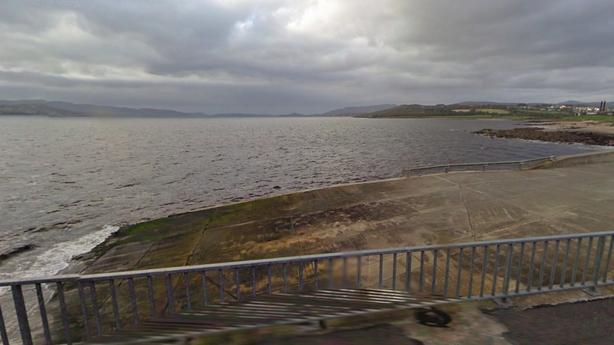Buncrana pier (Pic: Google Street View)