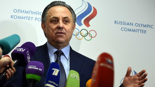 Vitaly Mutko has offered to resign