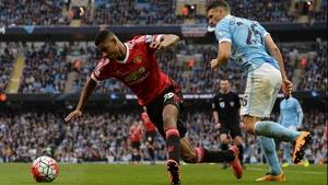 Prodigious Manchester United forward Marcus Rashford gave Manchester City defender Martin Demichelis a torrid time in Sunday's derby