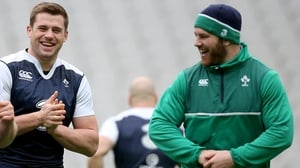 Eddie O'Sullivan reckons that CJ Stander (l) is ahead of Sean O'Brien (r) in the pecking order