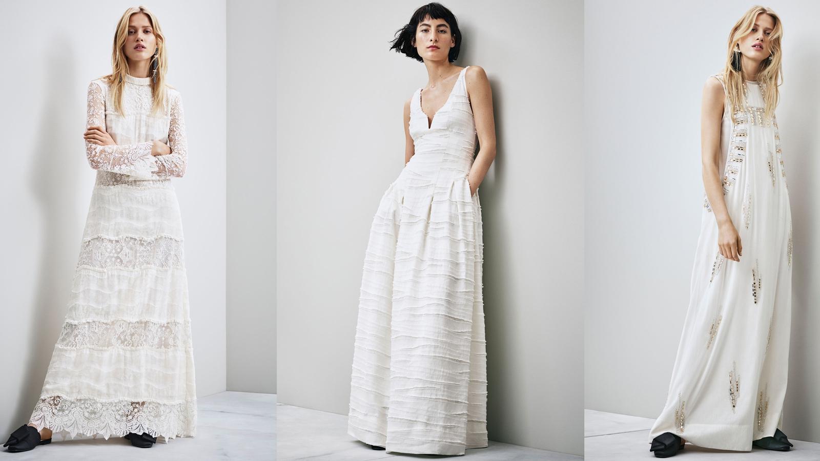 1eb915cb67da H&M's new Conscious wedding dresses are divine