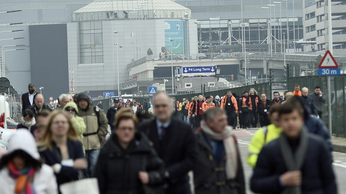 Anti-terror troops sent to investigate Brussels airport blast