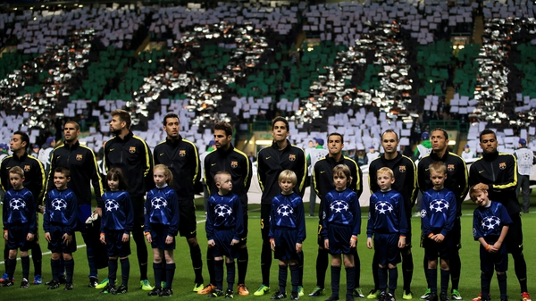Barcelona and Celtic have met in the Champions League in recent seasons