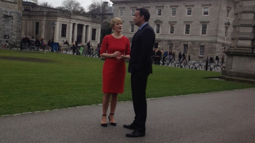 Leo Varadkar said he was backing Averil Power because of her leadership during the same-sex marriage referendum