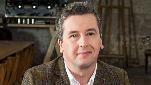 RTÉ presenter, journalist and broadcaster Philip Boucher-Hayes