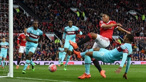 Anthony Martial scored Manchester United's leveller at Old Trafford