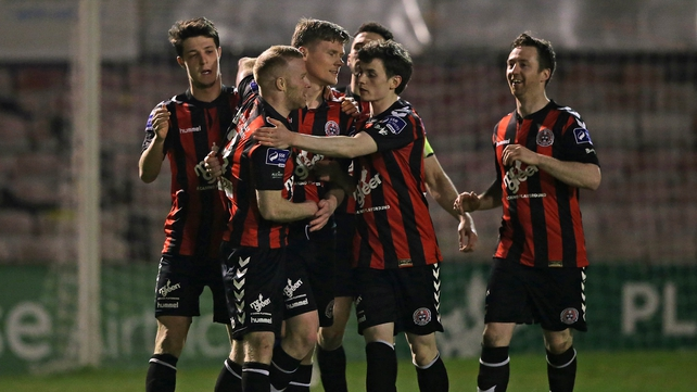 Bohemians ran out comfortable winners over Longford