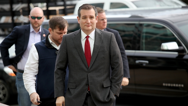 Ted Cruz said the momentum is with him following his win in Utah
