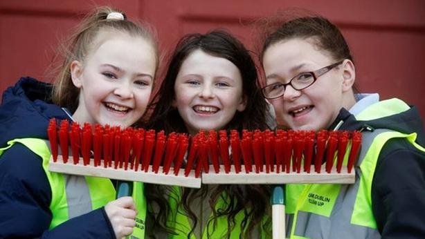 'Team Dublin Clean-up' (Pic: Dublin City Council)
