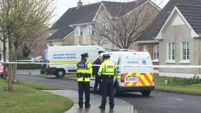 The scene at Ratoath is sealed off
