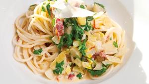 Catherine's spaghetti dish