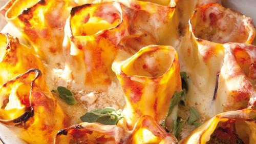 Catherine Fulvio's Roasted Vegetable Cannelloni